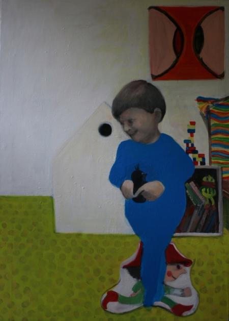 BDŠZ - Alois, 110 x 70 cm, akryl na plátně, 2012