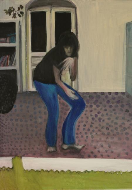 Brejk I, 80 x 60 cm, akryl na plátně, 2012