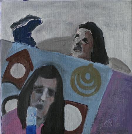 BDŠZ, 20 x 20 cm, akryl na plátně, 2012
