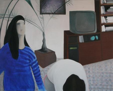 Jesus Christ Superstar, 170 x 145 cm, akryl na plátně, 2008