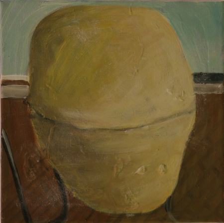 Mimibazar VII, 20 x 20 cm, akryl na plátně, 2012